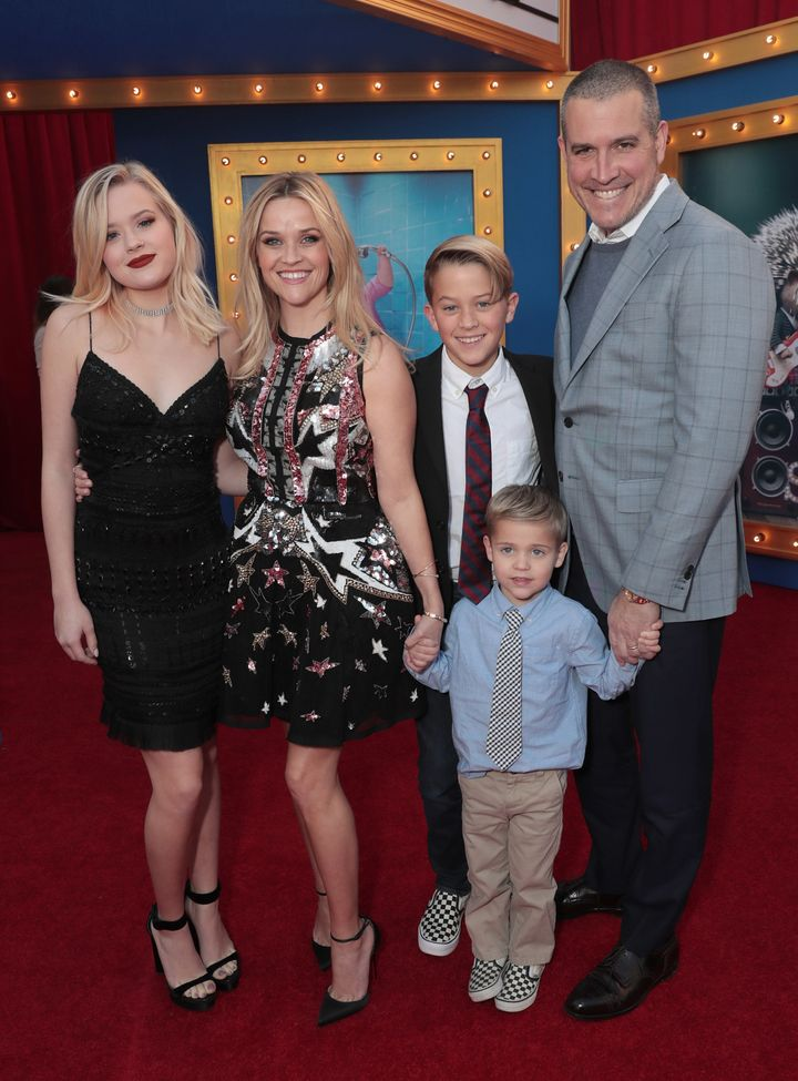 Witherspoon is a working mom of three.