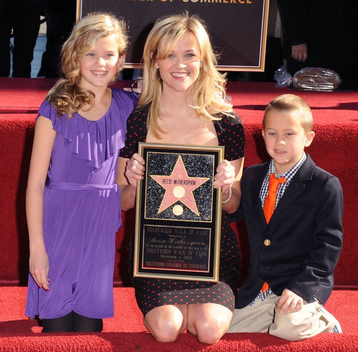 Witherspoon had Ava and her son, Deacon, with her ex-husband Ryan Phillippe.