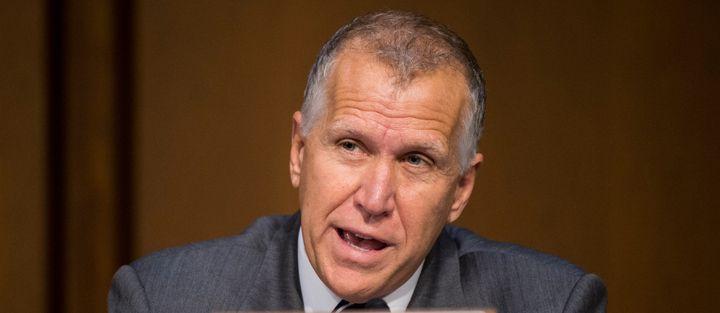 """Sen. Thom Tillis (R-N.C.) complained that """"people want to demonize Goldman Sachs."""""""