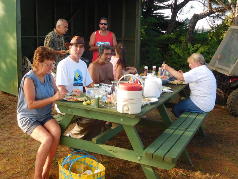 <strong>SATURDAY EVENING BARBECUE AT HIGHEST POINT</strong>