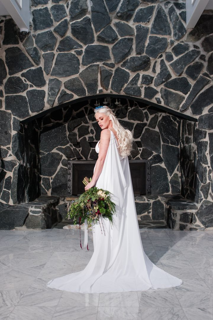 Austen Taylor Mauney as Daenerys Targaryen.