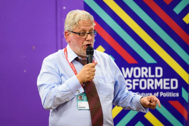 Jon Lansman, the founderof Momentum, is at the centre of a storm over the future direction of