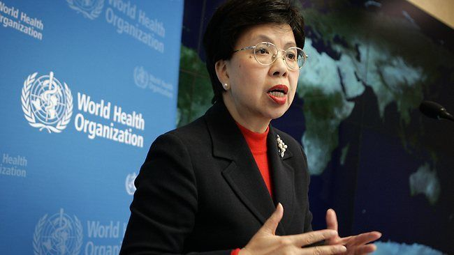 Dr Margaret Chan, Director General, WHO