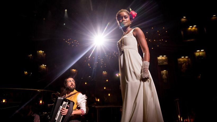 Josh Groban and Denée Benton in <em>The Great Comet</em>