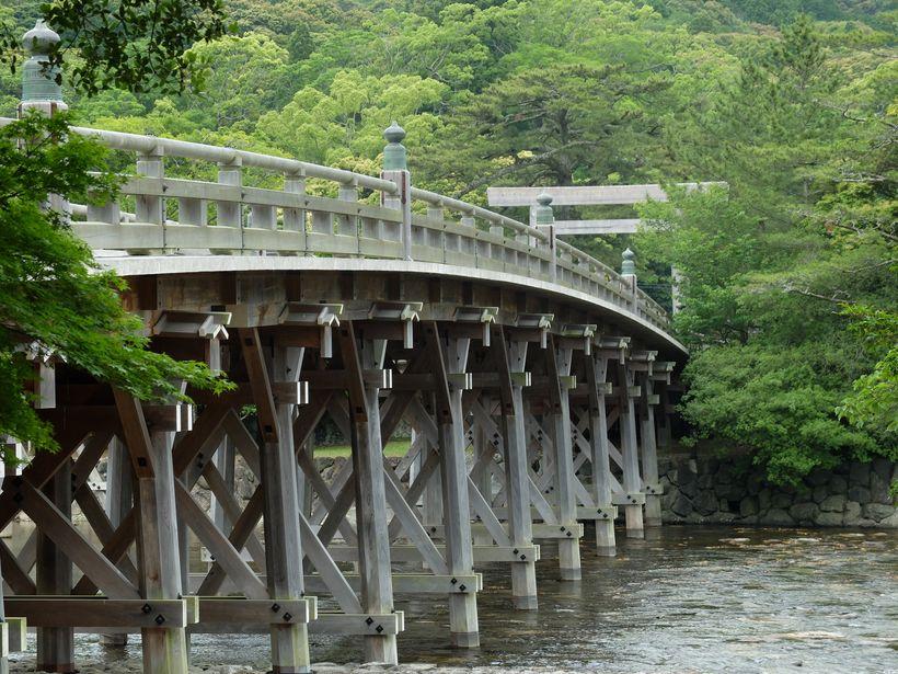 Isuzu river at Ise-Jingu