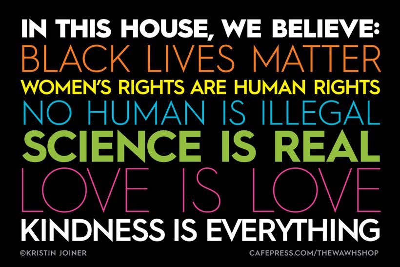 In This House, We Believe: