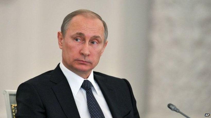 President Vladimir Putin http://www.bbc.com/news/blogs-trending-32302645