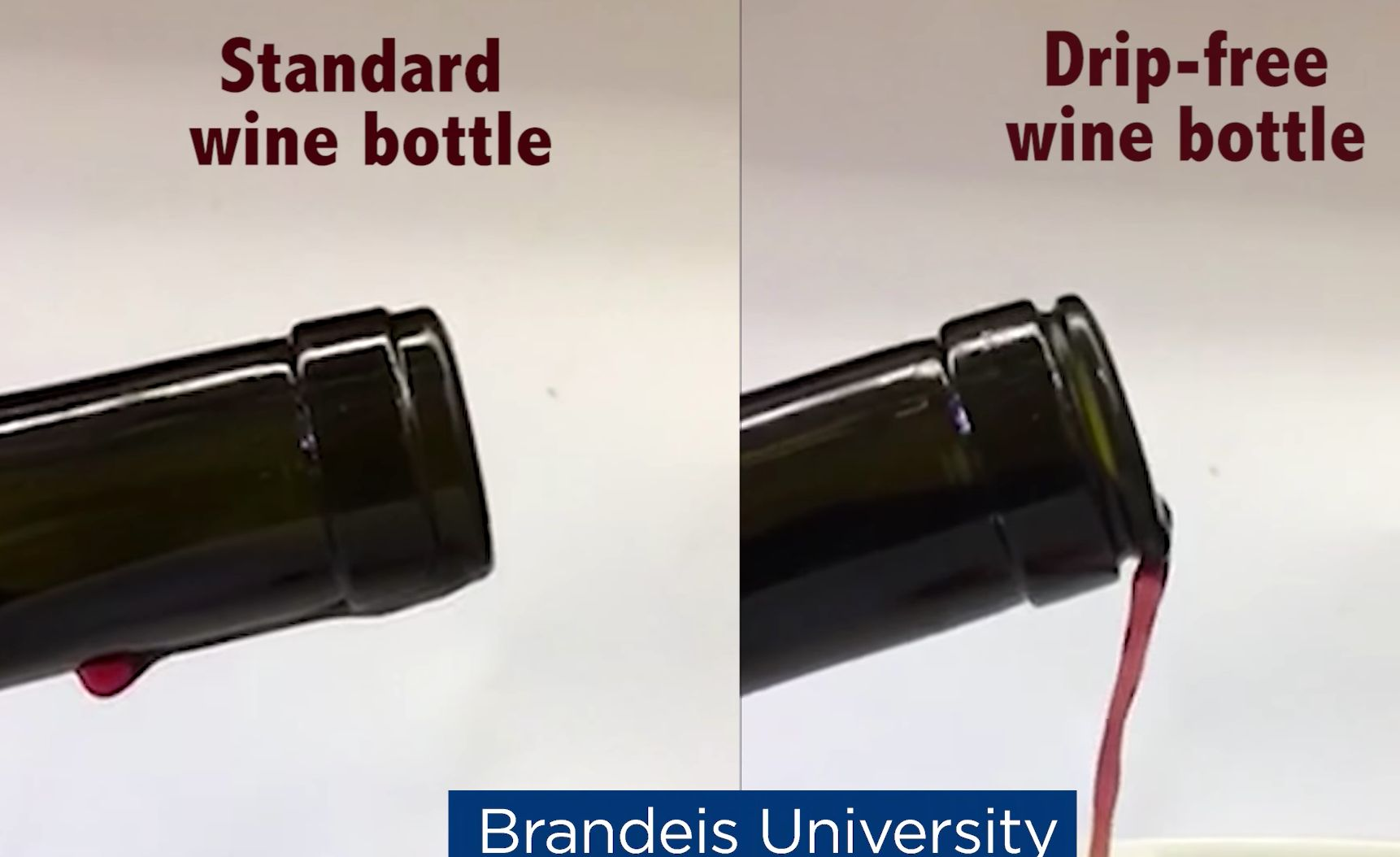 This Drip-Free Wine Bottle Makes Us More Grateful For Science Than Ever