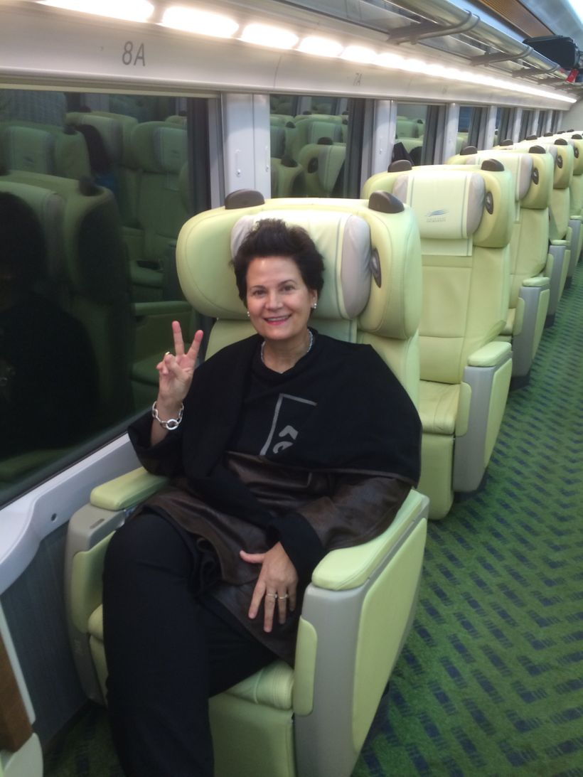 Aboard the Shimakaze Sightseeing Limited Express