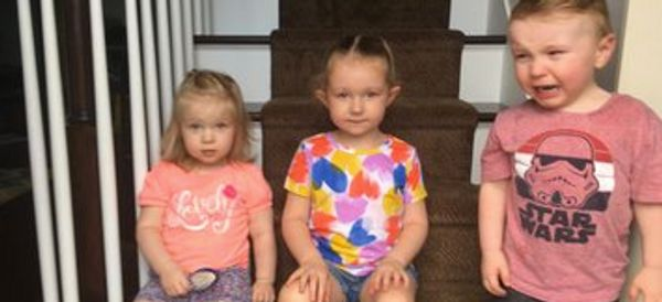 Mum's Photos Documenting Life With 3 Young Kids Shows They 'All Cry, Whine And Make Mess'
