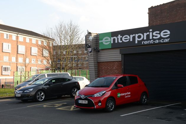 The branch of car-hire firm Enterprise in Spring Hill, Birmingham where Khalid Masood got the Hyundai...
