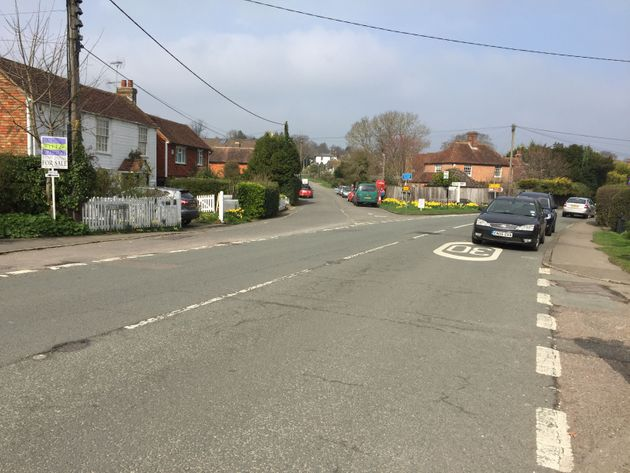 Northiam, East Sussex, where Westminster killer Khalid Masood, who was also known as Adrian Elms, used...