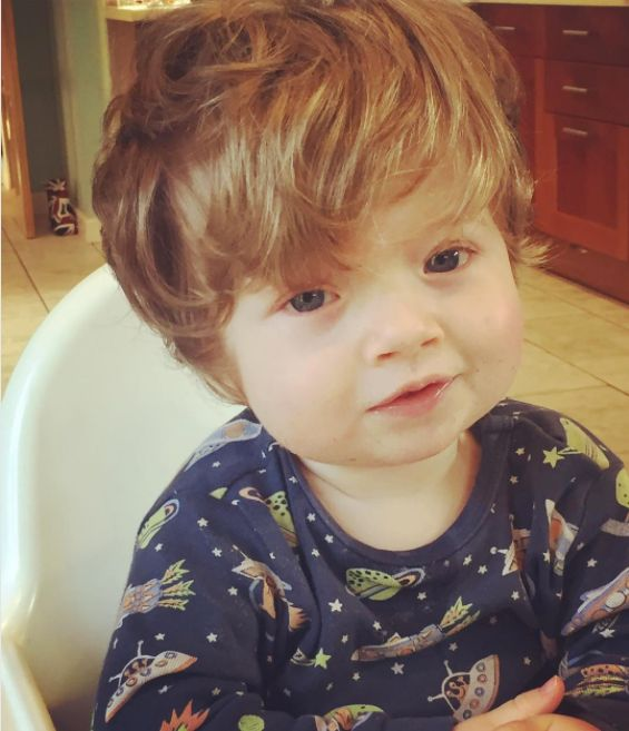 One-Year-Old Boy Has An Incredible Mop Of Hair And We Can't Take Our Eyes Off Of