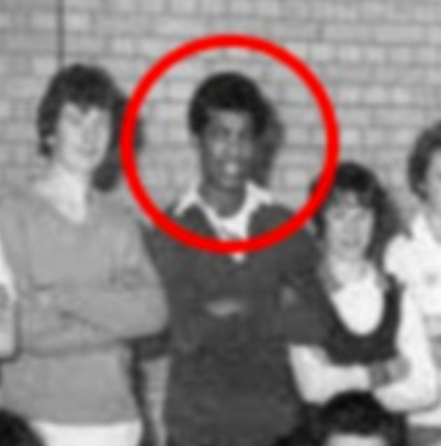 Khalid Masood pictured as Adrian Ajao during his school