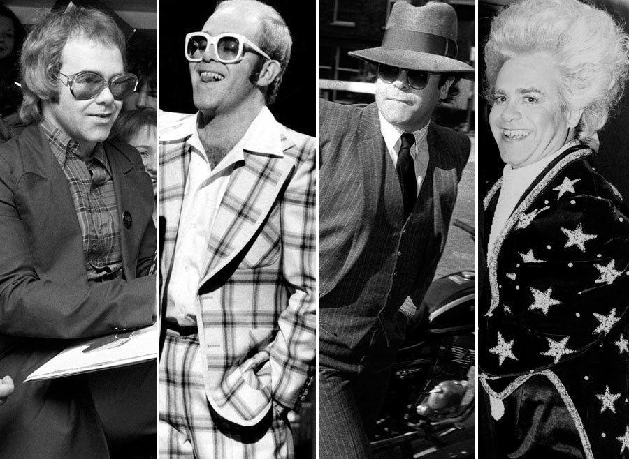 Celebrating Elton John's 70th Birthday With 70 Beautiful And Rare