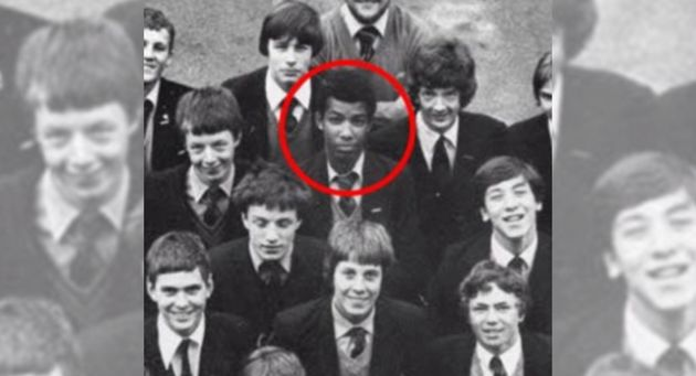 Khalid Masood, pictured as Adrian Ajao in 1980, while still at