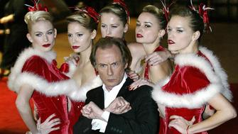 LONDON, UNITED KINGDOM:  Actor Bill Nighy arrives for the UK premiere of the film 'Love Actually', at the Odeon Cinema, Leicester Square in London, 16 November 2003. 'Love Actually' is the latest film from director Richard Curtis, who also made 'Four Weddings and a Funeral' and 'Notting Hill'. AFP PHOTO/ALESSANDRO ABBONIZIO  (Photo credit should read ALESSANDRO ABBONIZIO/AFP/Getty Images)