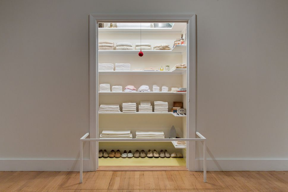 "A view of ""Sara Berman's Closet,"" on view at the Met."