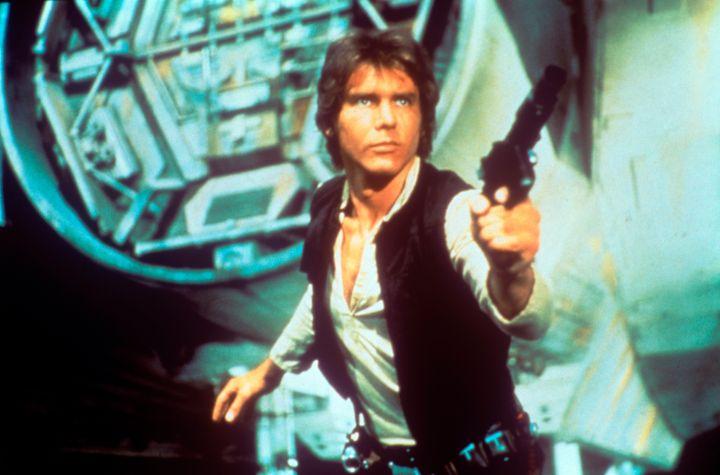 """Han Solo, or """"Han Solo""""?"""