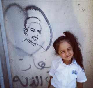 Al Khawaja - shut away but still an inspiration to a younger generation of Bahrainis.