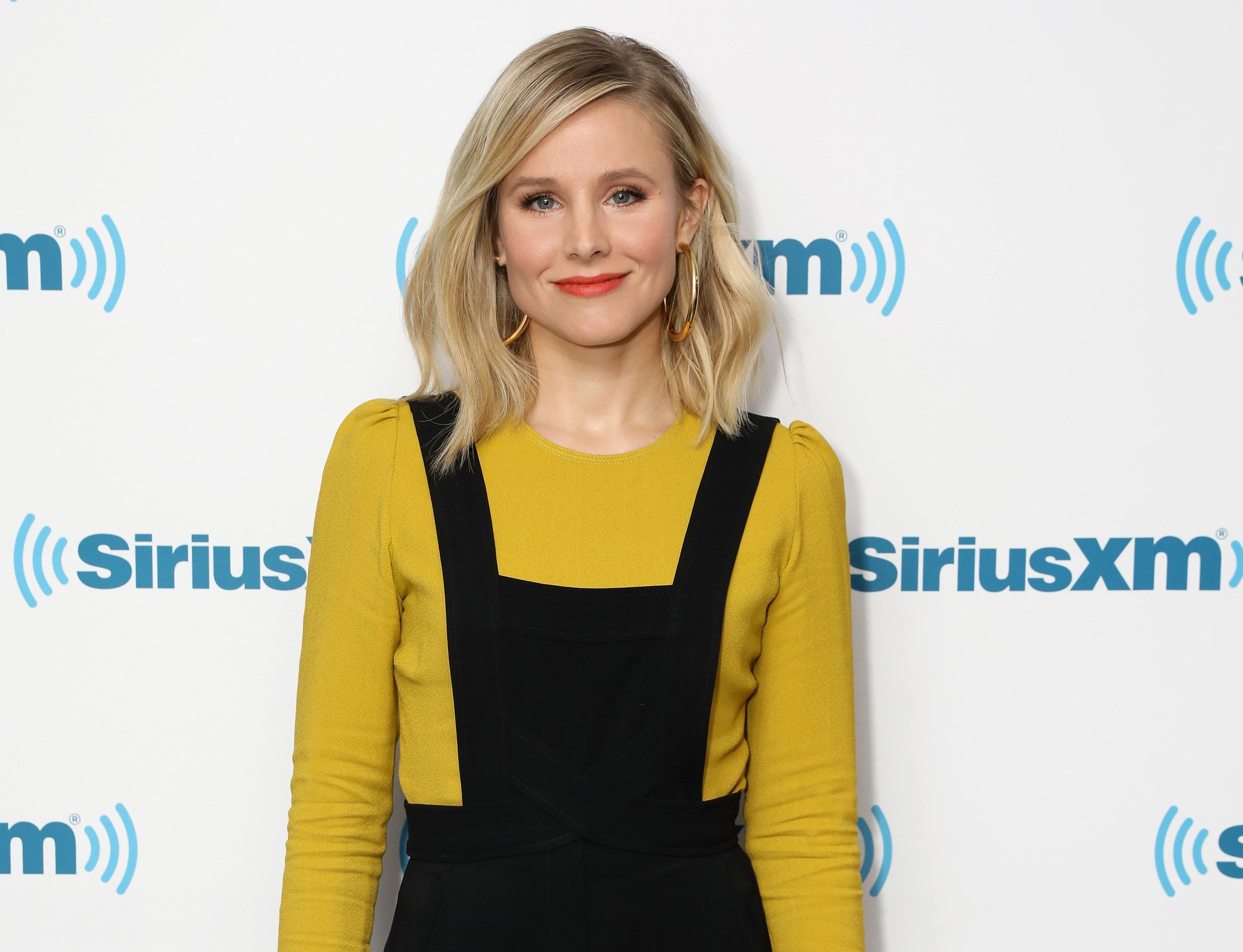 NEW YORK, NY - MARCH 22:  Actress Kristen Bell visits the SiriusXM Studios on March 22, 2017 in New York City.  (Photo by Cindy Ord/Getty Images)