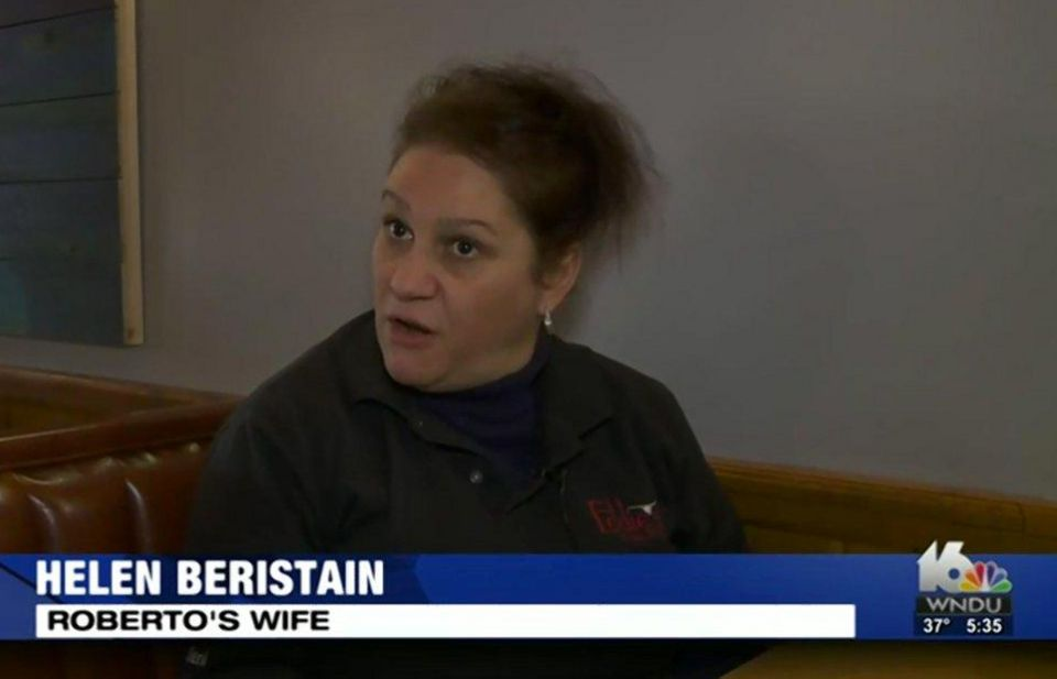 Helen Beristainwas left dumbfounded by Trump's government's decision to resume pursuing her husband...