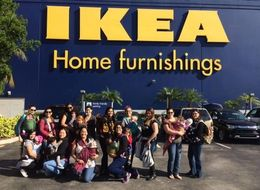 Mom Organizes 'Nurse-In' At IKEA After Negative Breastfeeding Experience