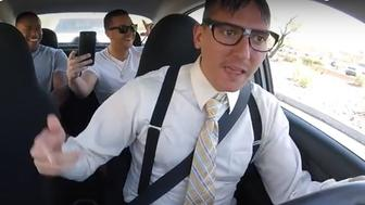 This Uber driver drops beats faster than a bullet from Rugar