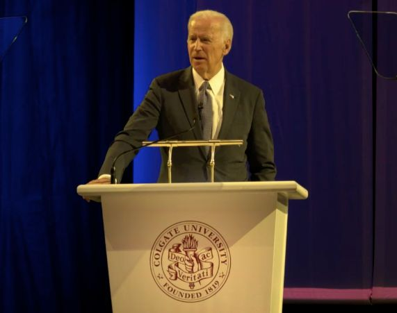 Former Vice President Joe Biden says he has regrets about his decision not to run for president in 2016.