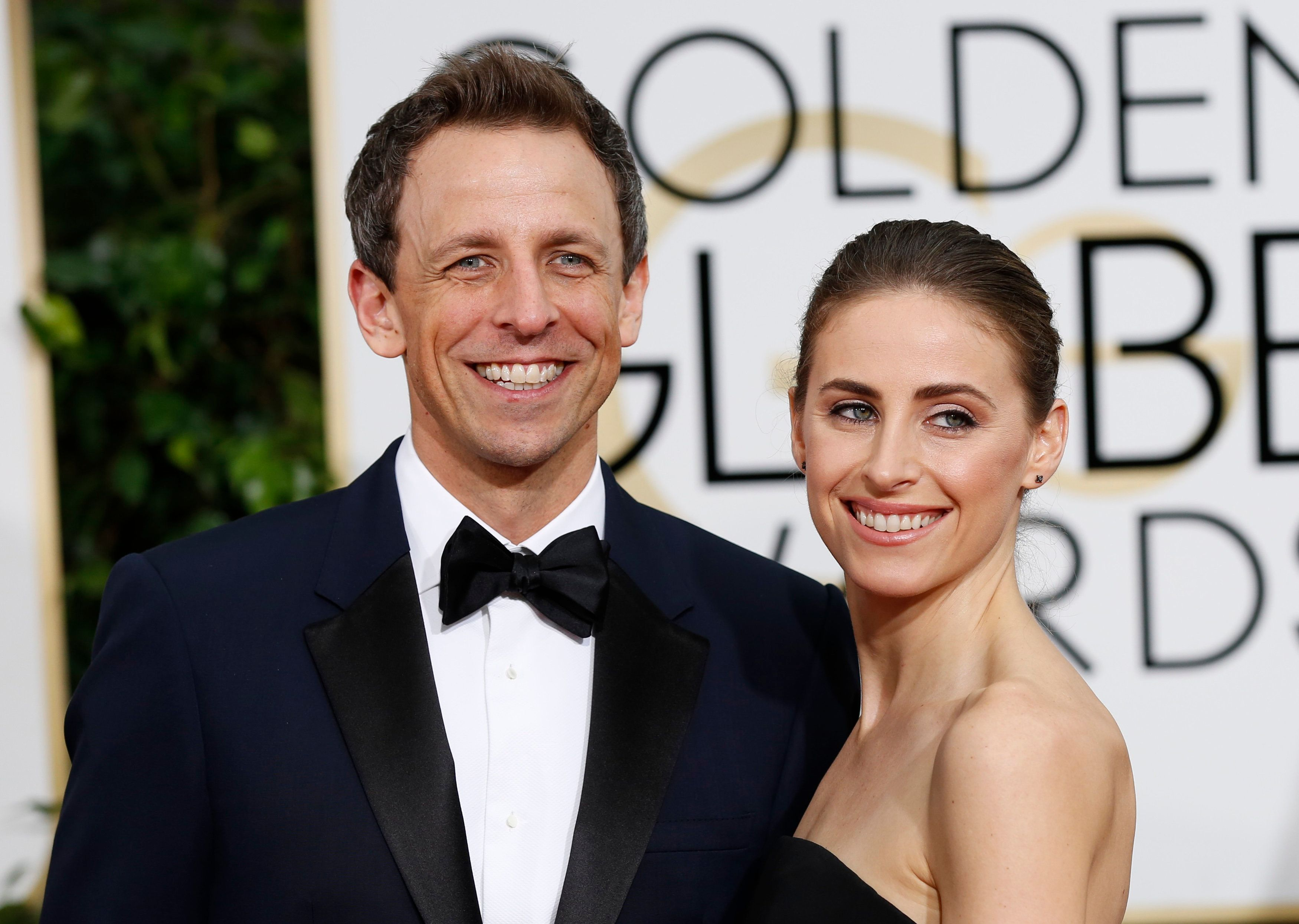 Meyers and his wife, Alexi, became parents a year ago today.