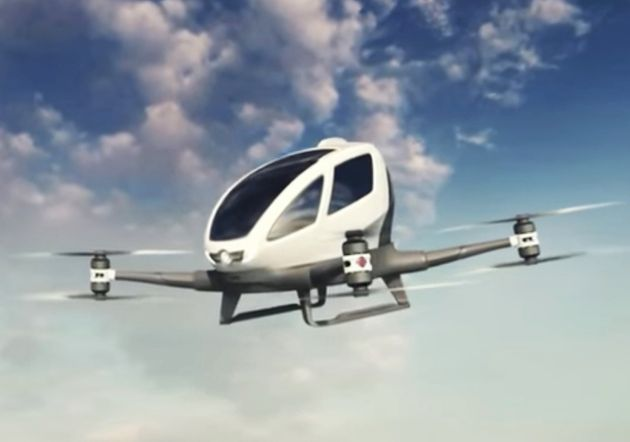 After many test flights of the Ehang 184 driverless drone taxi, it is scheduled to be introduced in Dubai...