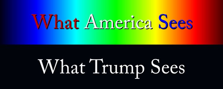 A national spectrum of all colors, or a cave wall of shades and shadows.