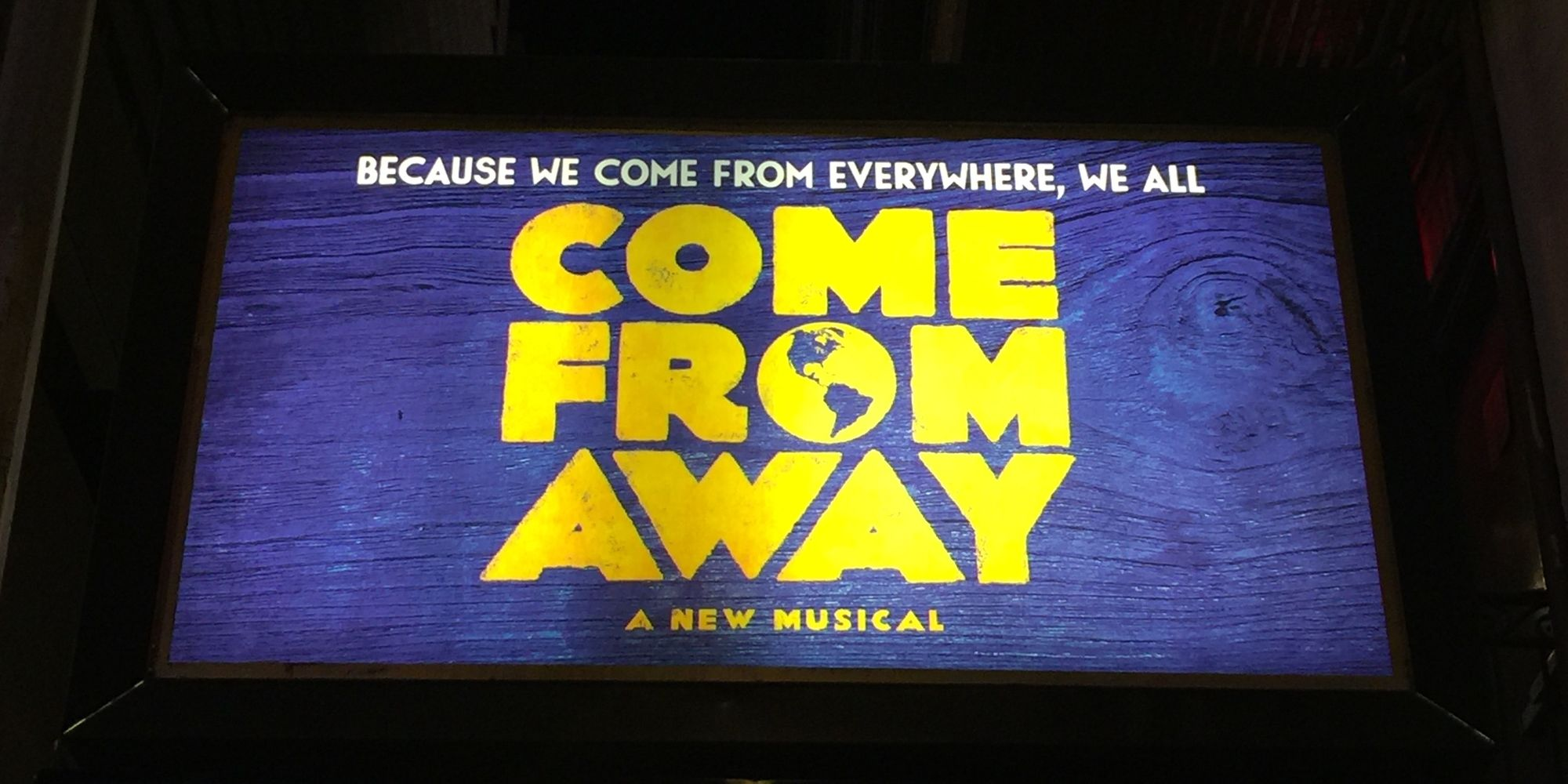 Come From Away: A Broadway Theatre Review By Dr. Lloyd Sederer