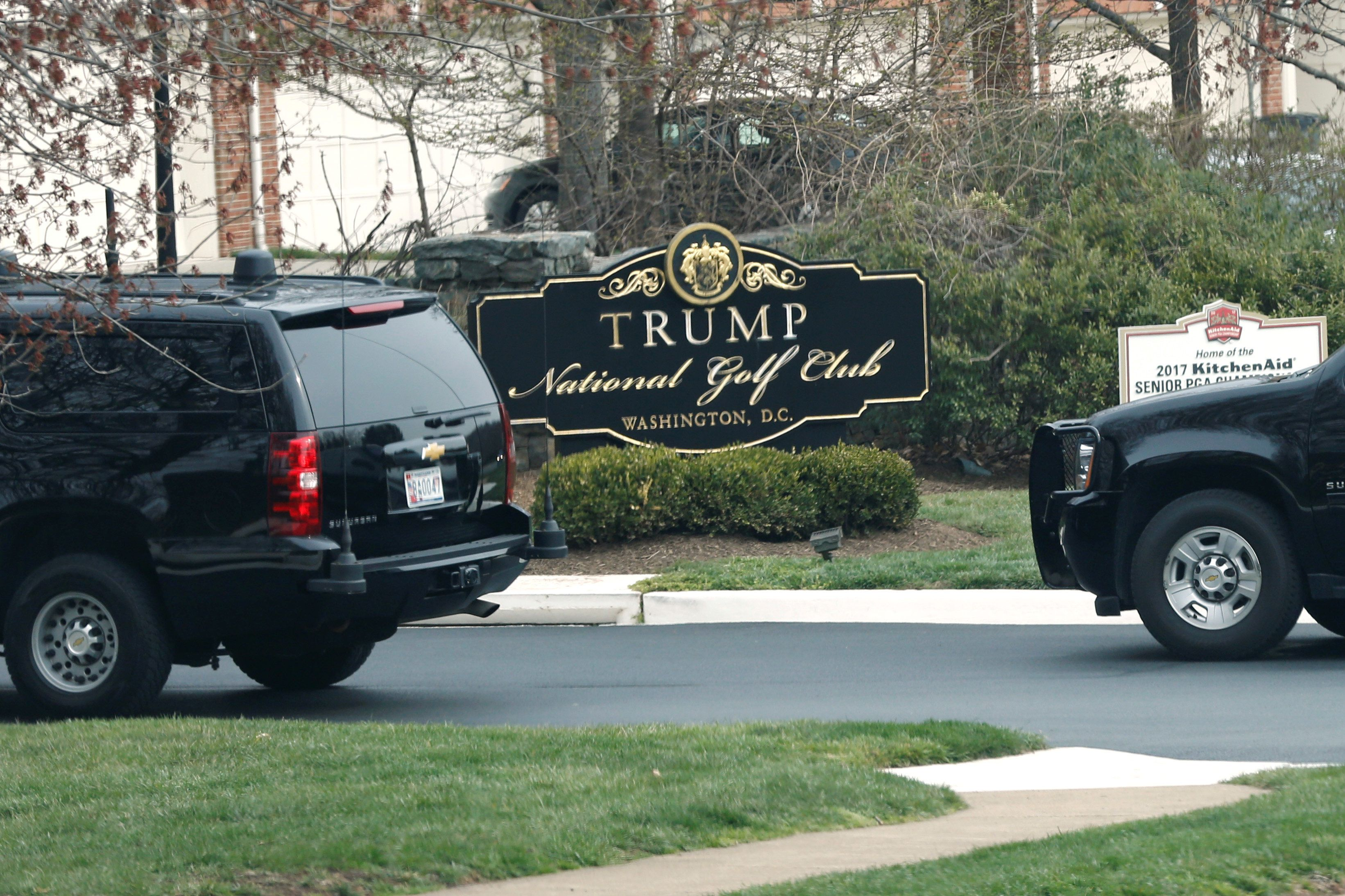 Trump Heads To Golf Club For the Twelfth Time In 9-Week