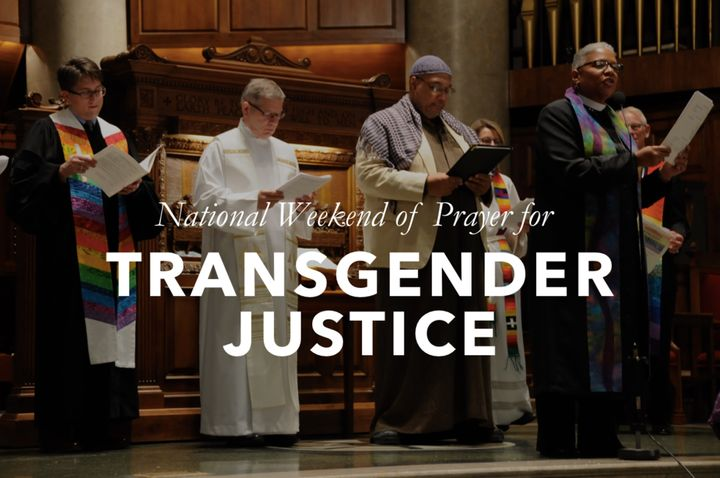 People of many faiths join in the National Weekend of Prayer for Transgender Justice
