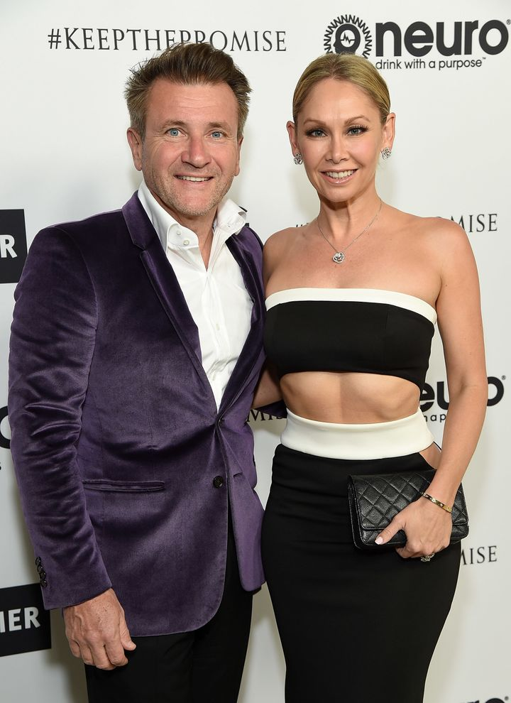 Robert Herjavec and Kym Johnson