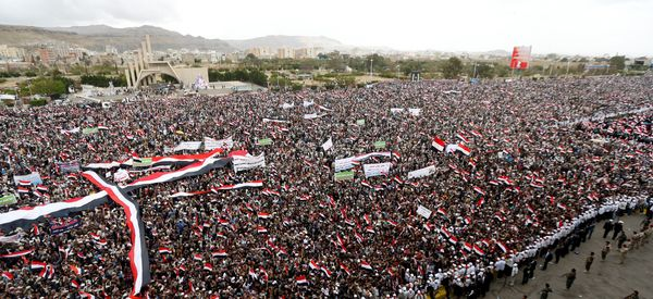 Thousands In Yemen Rally On Second Anniversary Of Civil War