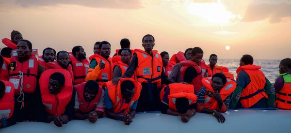 On The Front Lines Of The Migrant Crisis