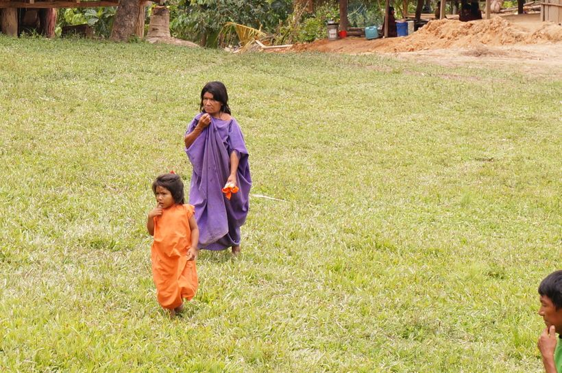 Ashaninka community members.