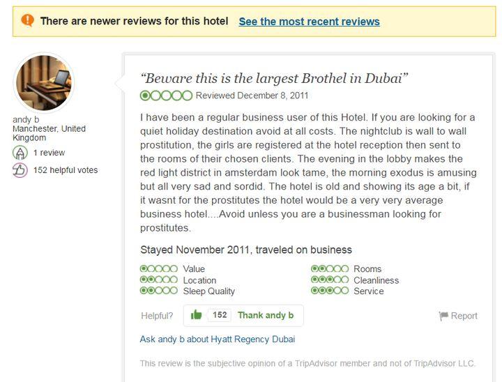 Hyatt Regency UAE Review