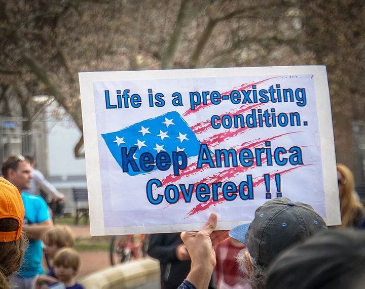 "Rally in Support of the Affordable Care Act.  Image licensed under <a rel=""nofollow"" href=""https://www.flickr.com/photos/taed"