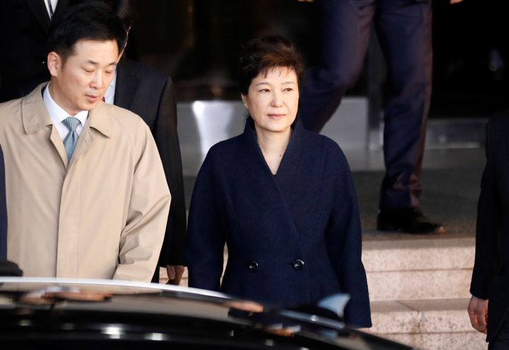 South Korea's ousted leader Park Geun-hyeis facing accusations in a wide-ranging corruption scandal.