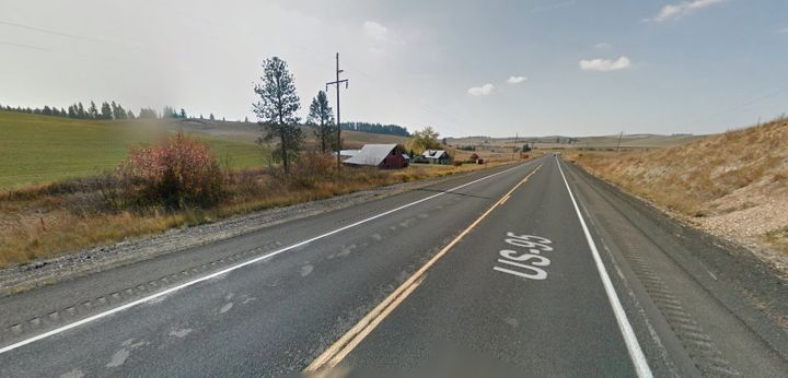 An Idaho motorist claims to have hit a deer in an accident that was caused by a Bigfoot sighting on this stretch of US-95.