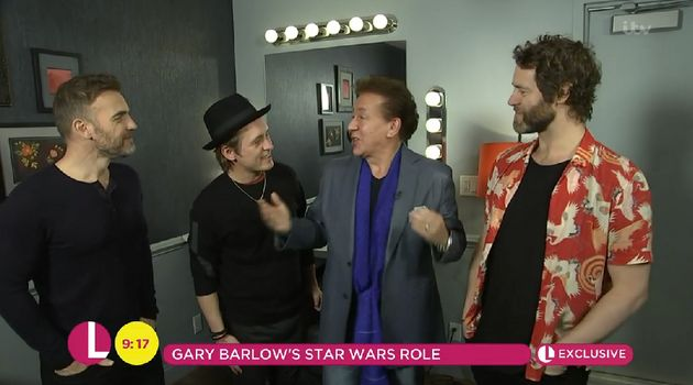 Gary revealed the news on