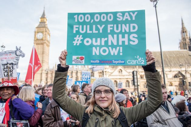 Tory 'Health Privatisation' Under Fire £900m Spent On Non-NHS