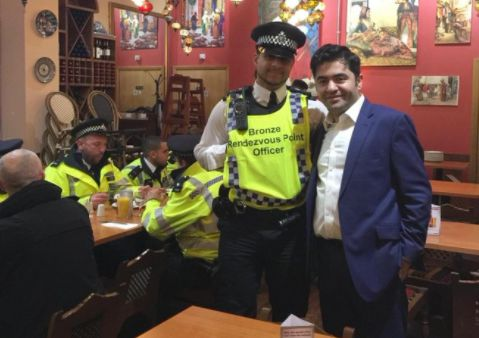 Restaurateur's Kindness Praised After Feeding 300 Emergency Service Staff For