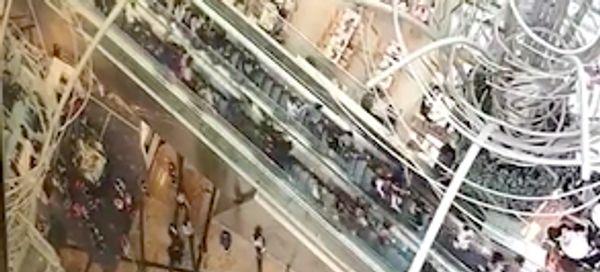 18 Injured When Hong Kong Escalator Suddenly Reverses At High Speed