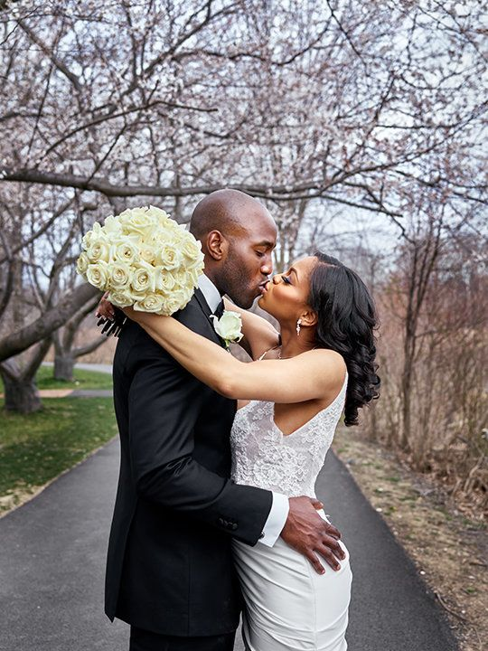 """""""Congratulations to Anthony and Joi Egbuniwe on their beautiful wedding in Baltimore! The love of close friends and family wa"""