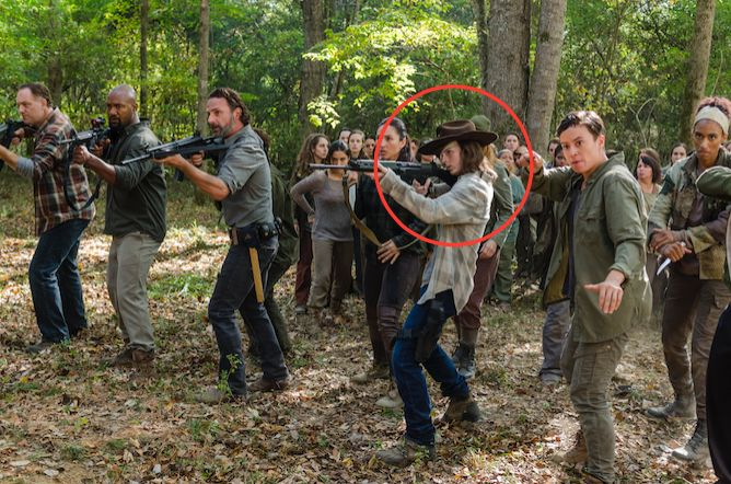How the Walking Dead Crew Sent Off Chandler Riggs in Style