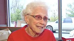 94-Year-Old McDonald's Employee Celebrates 44th Anniversary On